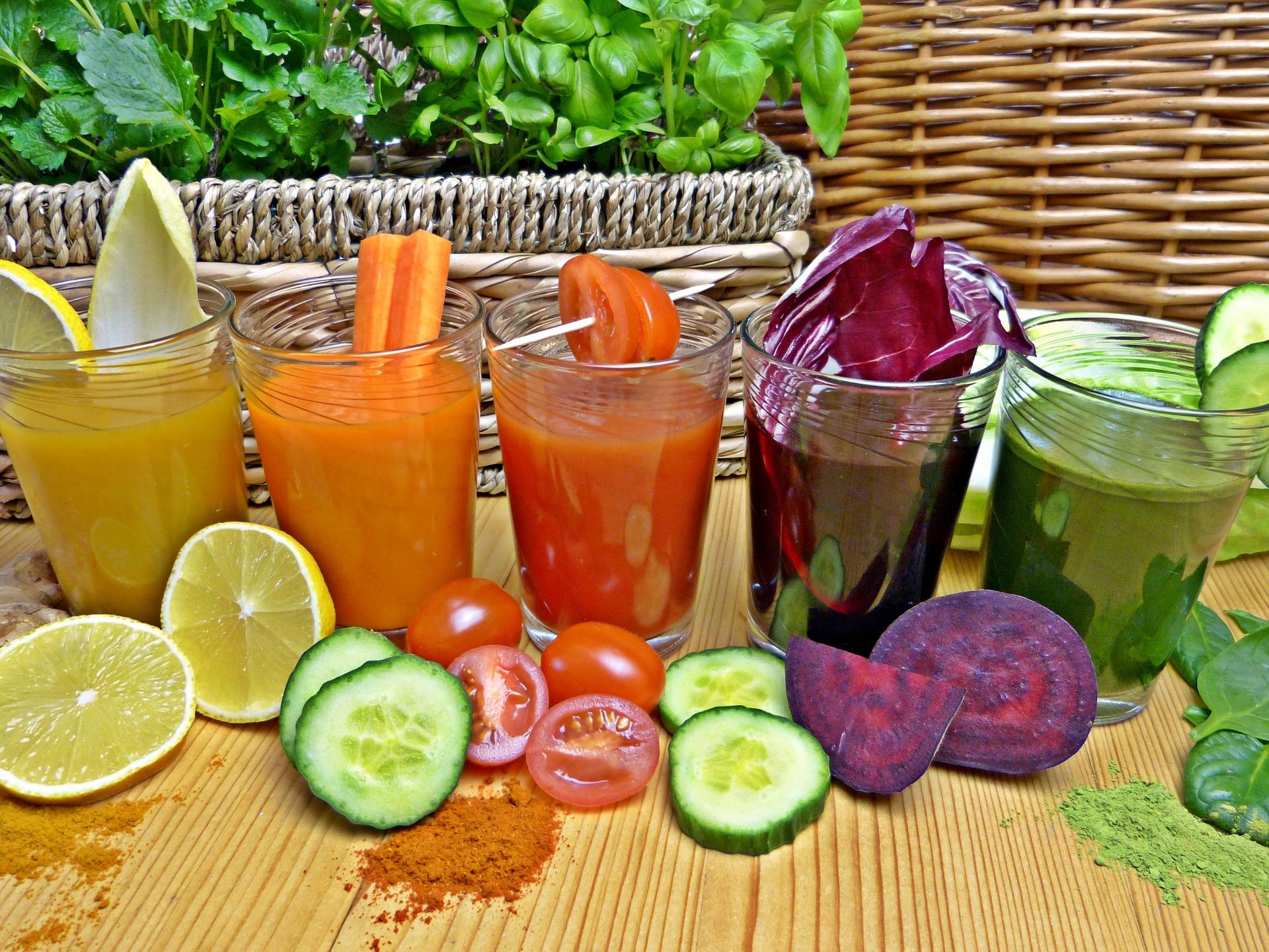 Soki owocowo warzywne - sok z buraka na co