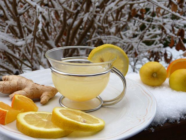 Sok imbirowo cytrynowy na przeziębienie