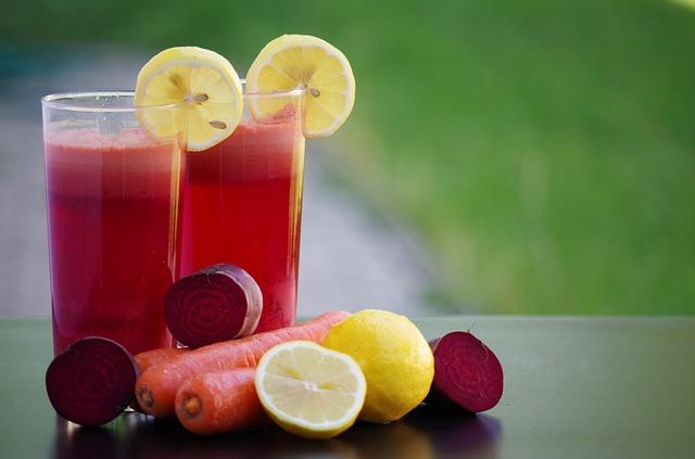 Świeże soki w diecie płynnej