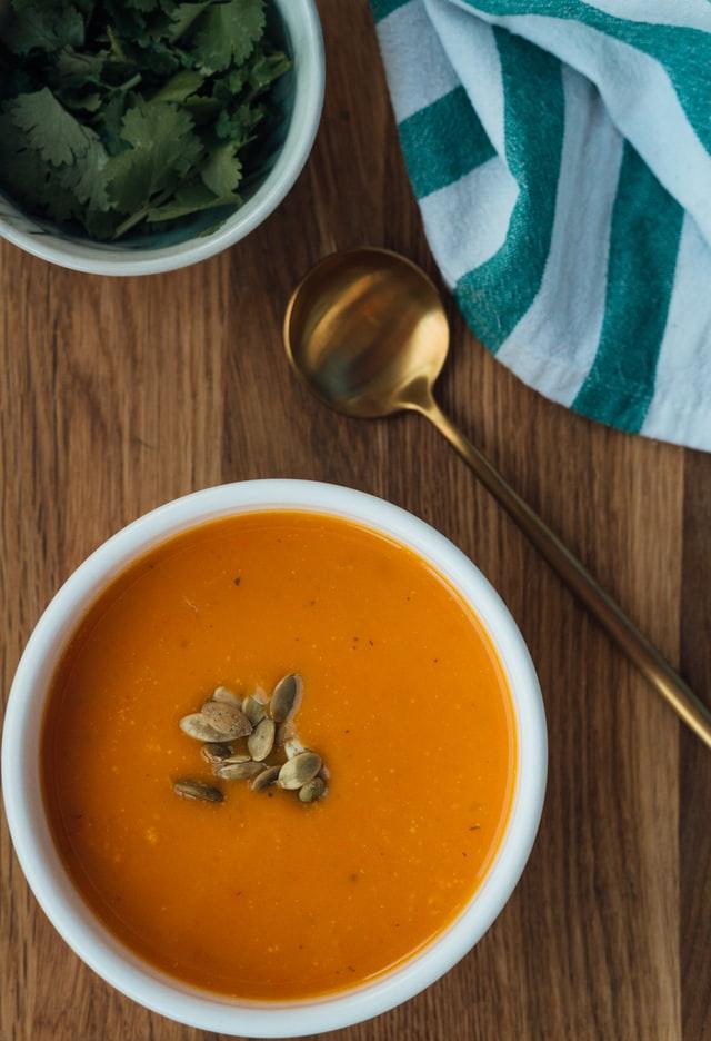 Zupa dyniowa z blendera na jesień
